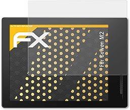 atFoliX Película Protectora Compatible con Cowon M2 Lámina Protectora de Pantalla, antirreflejos y amortiguadores FX Protector Película (3X)