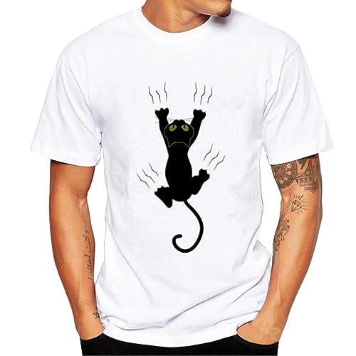 Camisetas de Gatos  Amazon.es ebe2342c3a9b0