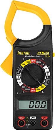 Alicate Amperímetro Digital 1.000A AC Portátil Hikari HA-266