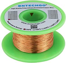 BNTECHGO 28 AWG Magnet Wire - Enameled Copper Wire - Enameled Magnet Winding Wire - 4 oz - 0.0122
