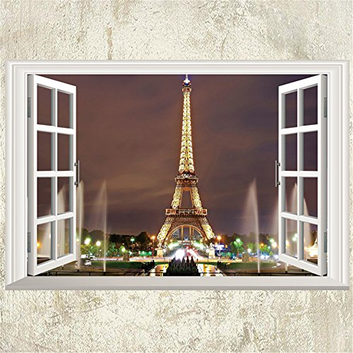 01 FTVOGUE 10 Pcs Autocollant en PVC Autocollants Muraux Carrelage Au Sol 3D Decal Maison Chambre Salon Salle De Bains D/écor 12 CM