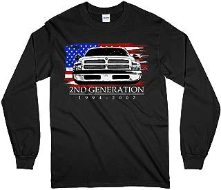 2nd Generation Second Gen Dodge Ram 1994-2002 Long Sleeve T-Shirt