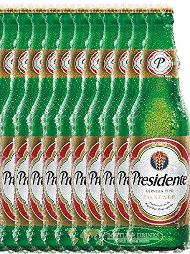Presidente Dominikanische Republik Pilsener 12 x 0,35 Liter