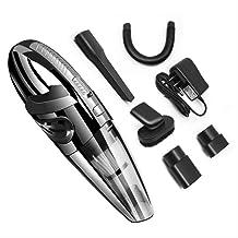 Handheld Vacuums Portable Hand-held Car Vacuum High Power Cordless Vacuum Cleaner Wet and Dry Elxiwknvh