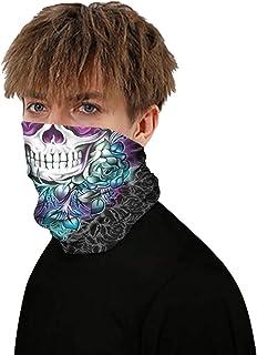 JSJCHENG Unisex Scarf Bandana Face Mask Neck Gaiter Balaclavas UV Protection