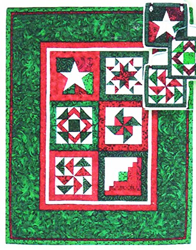 Foundation Paper Piecing Holiday Mini-Quilt and Ornaments Pattern - 24 3