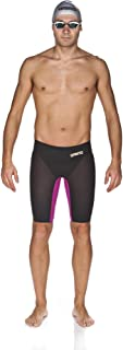 Arena Powerskin Carbon Air Gold LE Jammer,Dark Grey/Fuchsia (549),24