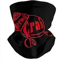 Crab Art Crab Stickers Neck Face Cover Headwrap Bandana Balaclava Scarf Neck Gaiter