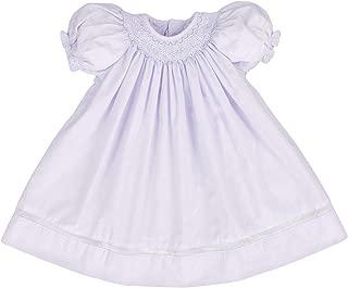 lavender smocked dress
