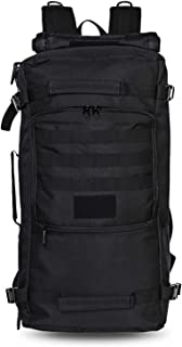 60L Outdoor Tactical Backpack Camping Hiking Waterproof Shoulder Bag