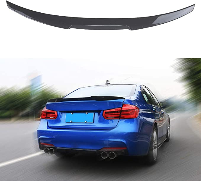 FITS 12-2018 BMW F30 /& 15-18 F80 M3 GLOSSY BLACK PSM DUCKBILL TRUNK SPOILER WING