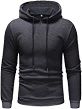 LYLIFE Men's Autumn Winter Solid Hooded Pullover Jacket Coat Sweatshirt Outwear