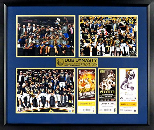 Golden State Warriors Framed Ticket Display