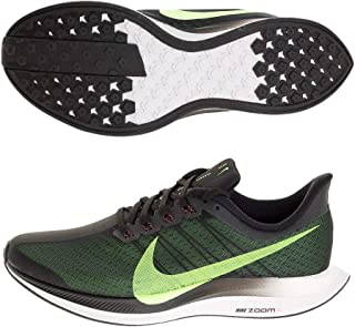 Men's Air Zoom Pegasus 35 Turbo Running Shoes (8.5, Black/Lime)