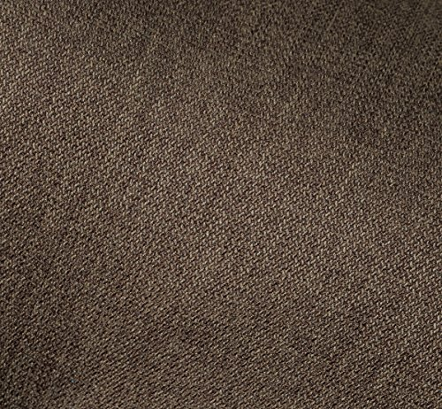 セルタン日本製ポケットコイルハイバックソファー和楽の浅葱一人掛けタスクブラウン背部リクライニングA327p-582BR