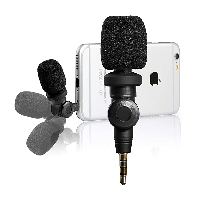 Saramonic Flexible Microphone with High Sensitivity for Apple iOS iPhone X 8 7 6 iPad Podcast Vlog YouTube Facebook Livestream (3.5mm TRRS)