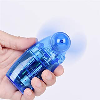 Ventilador de bolsillo: Mini ventilador de mano portátil, mini ventilador de mano eléctrico alimentado por batería, mini ventilador de mano y bolsillo con batería