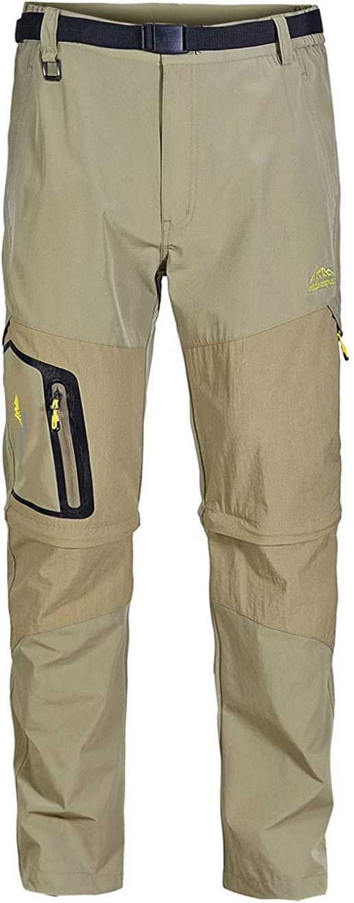 Vcansion Men's Hiking Outdoor Dry Lightweight Limited Special Price Quick Long-awaited Convertible