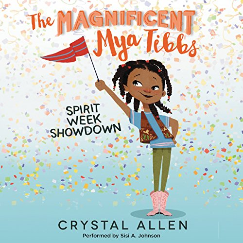 Spirit Week Showdown audiobook cover art