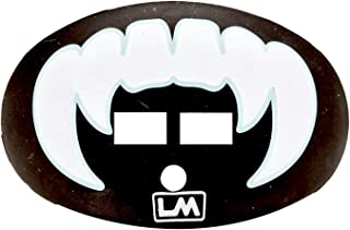 Loudmouth Football Mouth Guard | Vampire Fangs (Multiple Colors) Adult and Youth Mouth Guard | Fangs Mouth Piece for Sports | Dual Action Air Flow Mouth Guards | Pacifier Lip and Teeth Protector