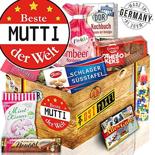 Beste Mutti Geschenkbox DDR - Kultprodukte der DDR - Geschenk für die Frau