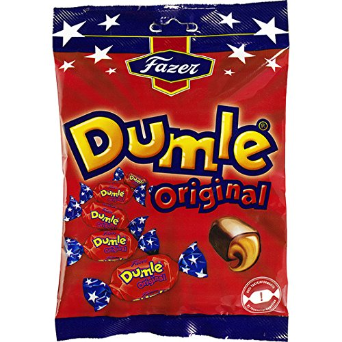Fazer Dumle Original - Toffee suave con chocolate con leche 220g