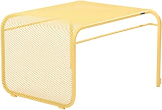 Home& Simple Furniture/Living Room Sofa Side Table Multifunction Metal Coffee Table Side Table Bedside Table Yellow 51 * 4...