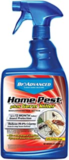 BioAdvanced 700460A Home Pest Plus Germ Indoor and Outdoor Insect Killer, 24-Ounce, Ready-to-Use