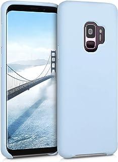 kwmobile Hülle kompatibel mit Samsung Galaxy S9   Handyhülle gummiert   Handy Case in Hellblau matt
