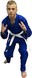 REEVO Guard Ultra Light BJJ Gi - Brazillian Jiu Jitsu Uniform w/Free White Belt