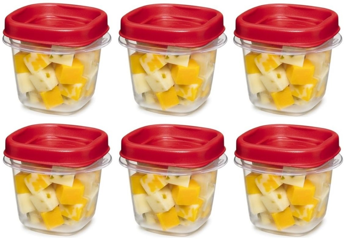 Rubbermaid Max 75% OFF 781147333731 Easy Find Square Storage 1 2-Cup New products, world's highest quality popular! Food Co