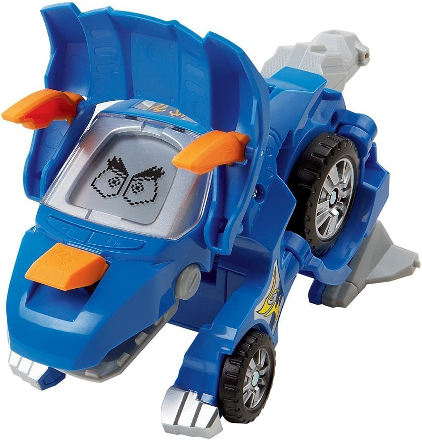 VTech Switch and Go Dinos  Horns The Triceratops bluee