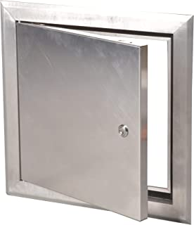24 x 24 Access Door System AluLight for Exterior and Interior, Aluminum Panel with Key lock