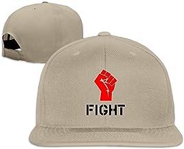 SAXON13 Unisex Hip Hop Baseball-Caps Meshback Fight Fist Hat Caps Pink