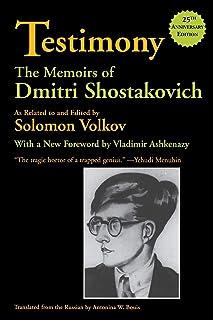 Testimony: The Memoirs of Dmitri Shostakovich (Limelight)