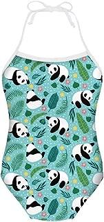 One Piece Swimsuit Bathing Suit for Little Girls Sun Protection Surfer Beach Hawaiian Swimwear for 1-10Y