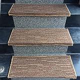 Mármol Escaleras Baldosas De Cerámica Dedicada Alfombra De La Escalera / (Beige, Azul, Marrón, Gris) Estera De La Escalera Antideslizante - Rugs Escaleras For Interior Y Exterior