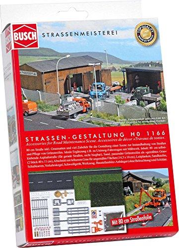 Busch 1166 - Komplett-Set Straßengestaltung und Mäharbeiten, Fahrzeug