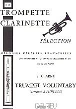 CLARKE J. - Trumpet Voluntary para Clarinete (Trompeta) y Piano (Tesson)