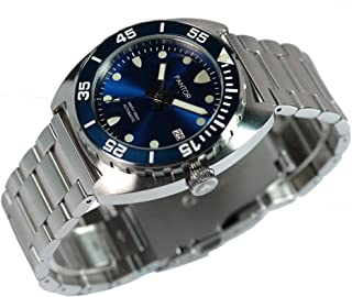 Pantor Sealion Dive Watches for Men, Mens Sports Analog Dive Watch with Screw Down Crown and He Release Valve, Japanese Automatic Mens Diver Watches with 300m Waterproof and Sapphire Crystal
