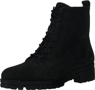 Lucky Brand Women's Haddley Boot Combat, Black, 9