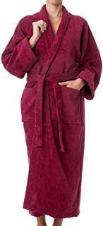 b2032a4a87 Robes for Women and Men - 100% Long Staple Cotton Bathrobes - Plush Terry  Cotton