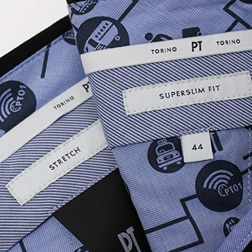 PTTORINOピーティートリノPT01トラベラーTRAVELLERSUPERSLIMFITスラックステクノジャージー52,ブラック[並行輸入品]