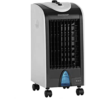Deuba Climatizador 3en1 ventilador humidificador y purificador de ...