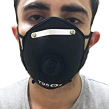 Sunny Fashion Anti-pollution mask for dust for Allergy, Sinus & Asthma for Men Women Kids air dustproof mask Washable Reusable with Filter - Grey