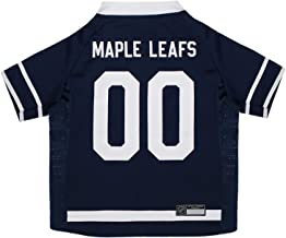 NHL Toronto Maple Leafs Jersey for Dogs & Cats, Medium. - Let Your Pet be a Real NHL Fan!