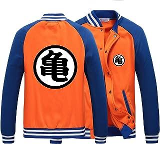 HOLRAN Men's Dragon Ball Z Goku Clothing Casual Hoodies Sweatshirt Cosplay Costume