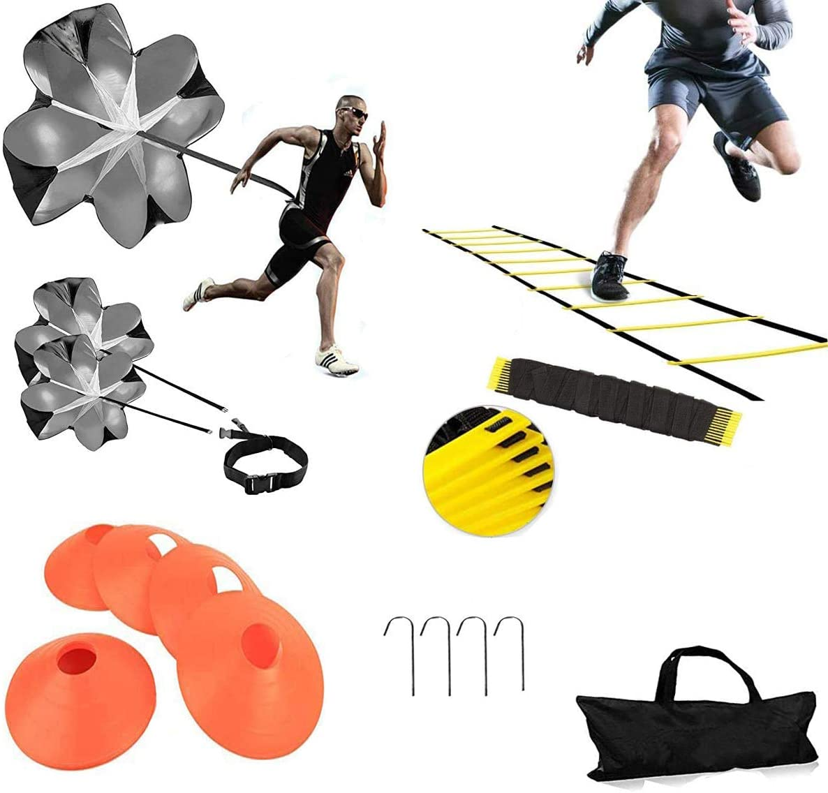 XINXIANG Speed 67% OFF of Limited time cheap sale fixed price AgilityTraining Kit-Includes 5 Agility Ro Ladder