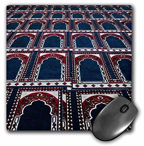 3drose LLC 20,3x 20,3x 0,6cm Maus Pad, Muster von Gebet Teppiche, Islamische Moschee, Kairo, egypt-af14aje0030–Adam Jones (MP 74155_ 1)