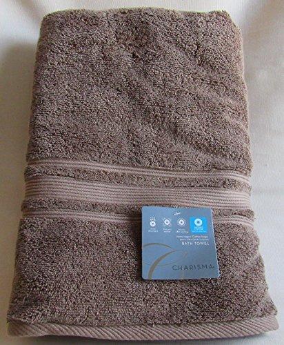 Charisma Luxury Bath Towel - 100% Hygro Cotton, Spring 2016 Colors (Latte)